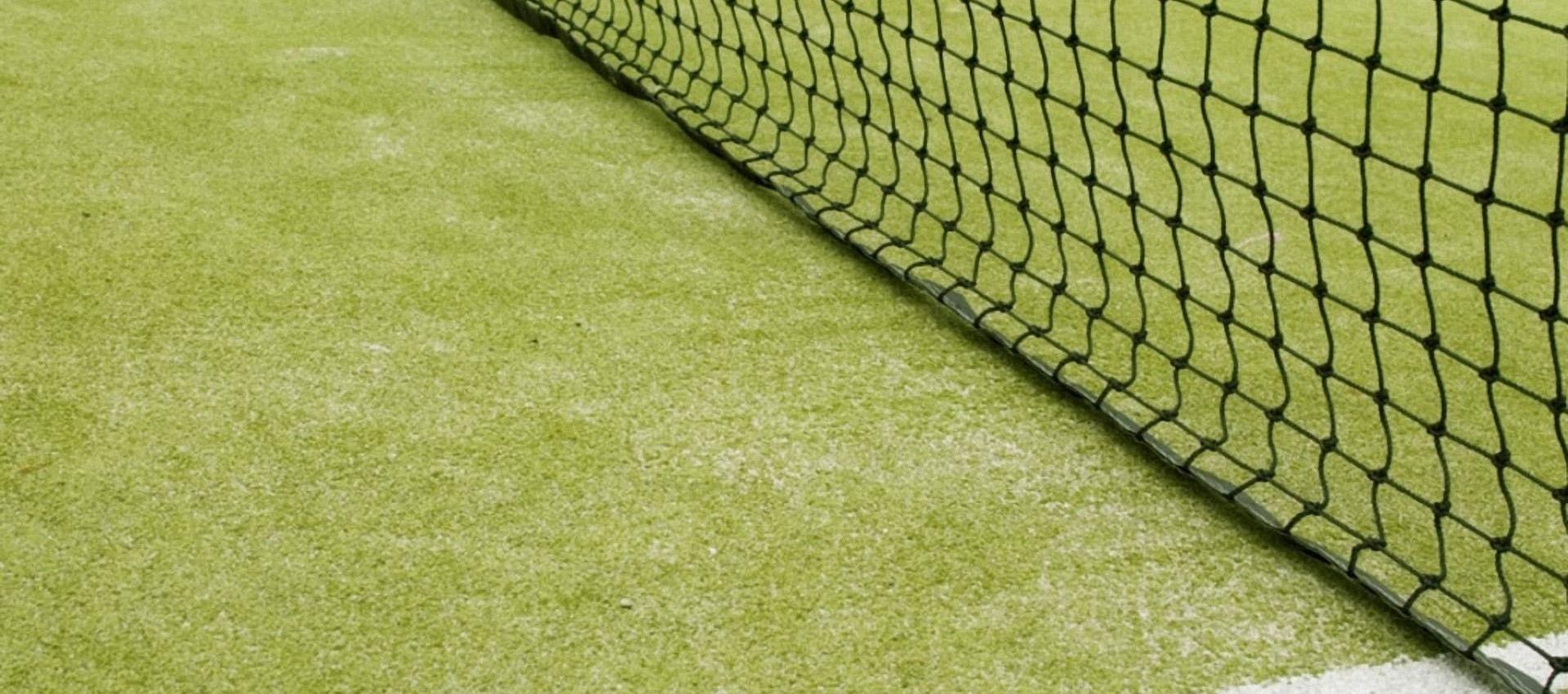 Tennis landing